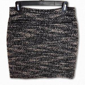 Ann Taylor Petite Tweed Pencil Skirt, 6P